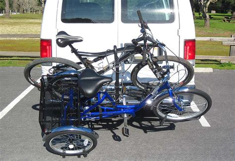bike rack trike carrier trailer hitch mount racks by hitch
