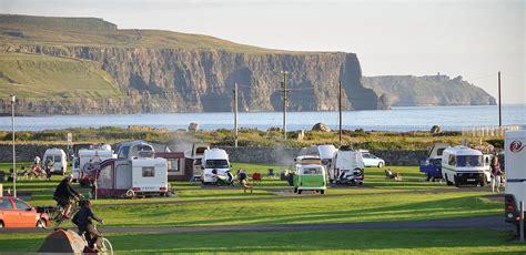 Green Kitchen Islands Nagles Camping And Caravan Park Doolin Co Clare