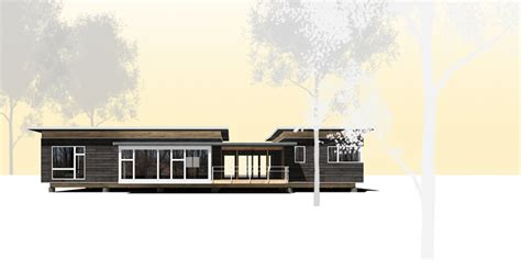 modern dogtrot house plans passive prefab house kit cabin attitude in the city
