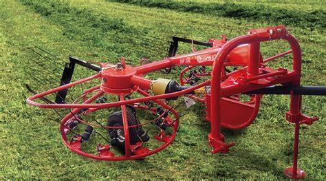 hay top 300 windrow rotary rake enorossi