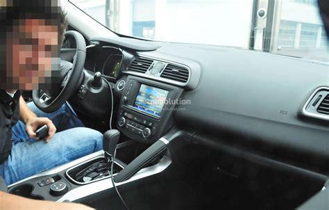 renault koleos 2015 interior 2015 renault koleos crossover spyshots reveal interior