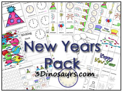 new year educational educational freebie new year s printable pack money