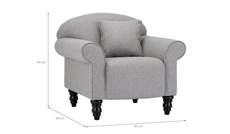 asda direct armchairs george home elliott armchair in woollen blend home