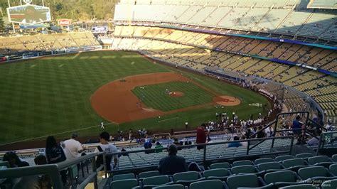 dodger stadium sections dodger stadium reserve 25 rateyourseats com