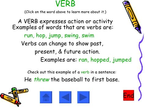 use swing in a sentence adjectives nouns verbs