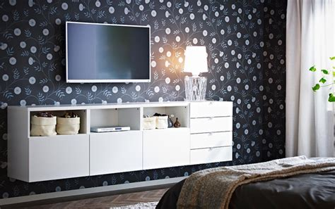 ikea tv wall bedroom furniture
