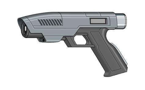 pattern energy revolver laser gun baw weapons