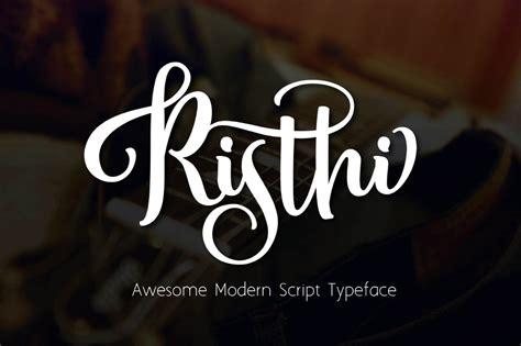 risthi free script typeface responsive joomla and
