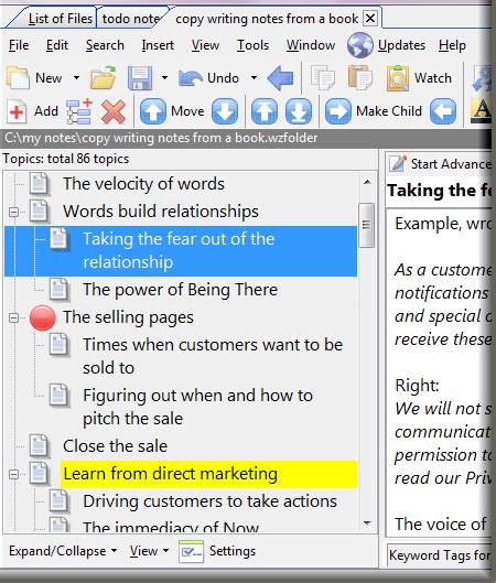 Web Based Outliner Software by Whizfolders Outliner And Note Taking Software