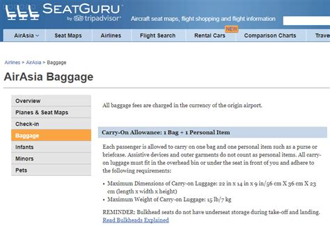 airasia excess baggage fees airasia excess baggage fees another cool use for seatguru