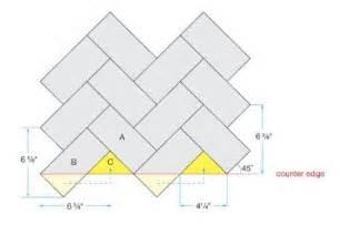 how to do backsplash tile installing herringbone tile pattern lemon grove avenue