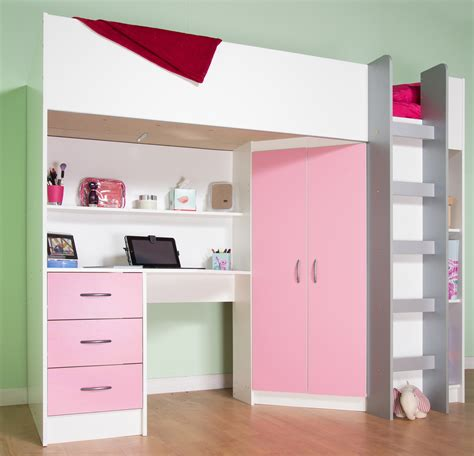 High Sleeper Bed by Childrens High Sleeper Cabin Beds