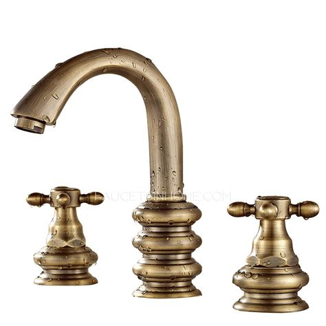 3 hole bathroom sink faucet short three hole two handles brass bathroom sink faucet