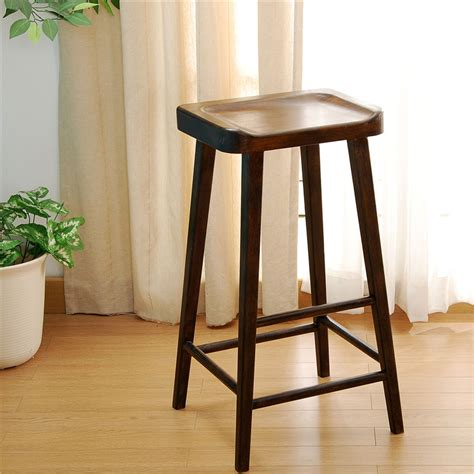 Sitting Room Stools Ben08 European Style Oak Solid Wood Restaurant Stools