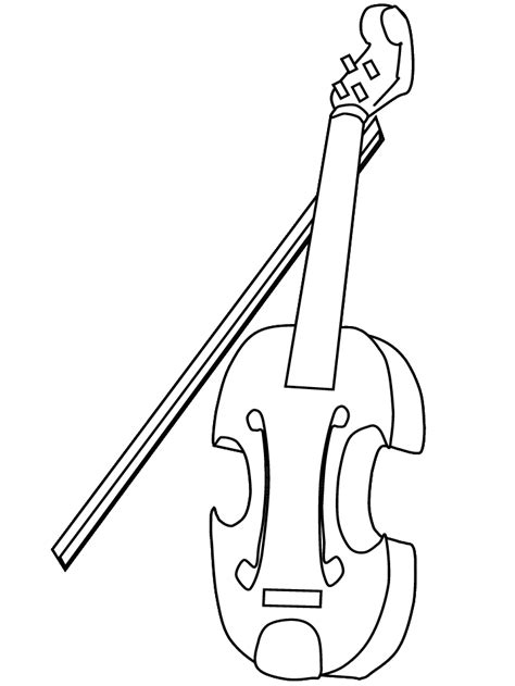 coloring pages violin coloring violin