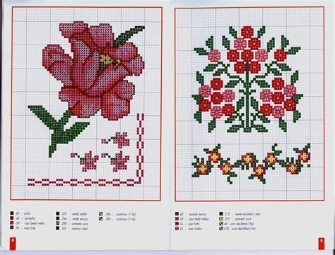 imagenes flores en punto de cruz bellas flores en punto de cruz punto de cruz colecci 243 n