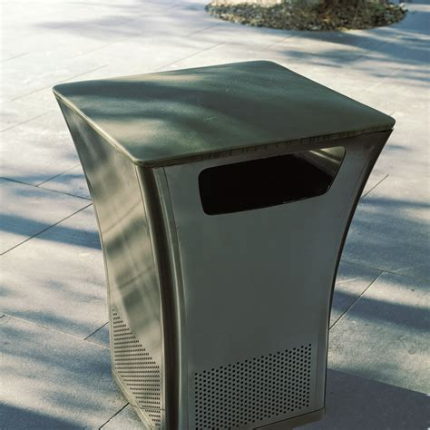 Landscape Forms Trash Receptacle Office Furniture Is Moving Outdoors Systems Furniture