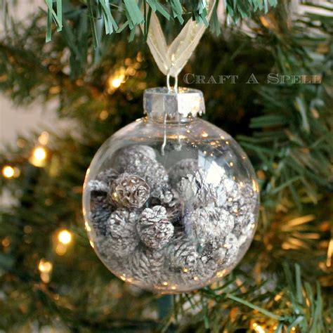 pine cone ornaments craft a spell pearl and pinecone ornaments
