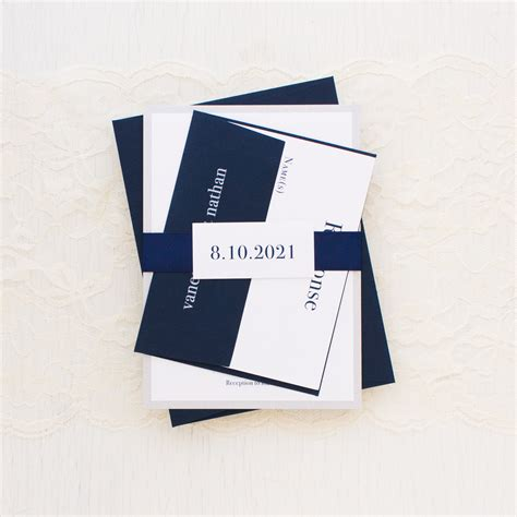 Chic Wedding Invitations by Chicago Chic Wedding Invitations Beacon