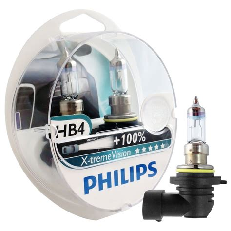 Lu Philips Xtreme Vision kit l 226 mpadas philips xtreme vision h7 h1 hb4 farol