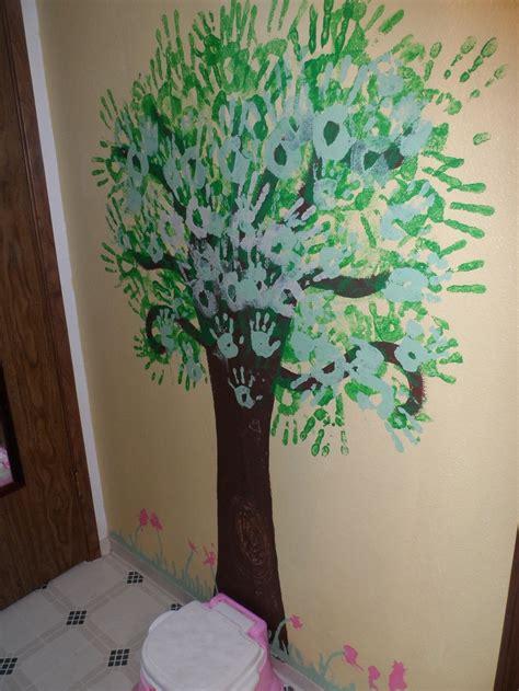 3 handprints tree 17 best ideas about print tree on tree crafts footprint crafts and handprint