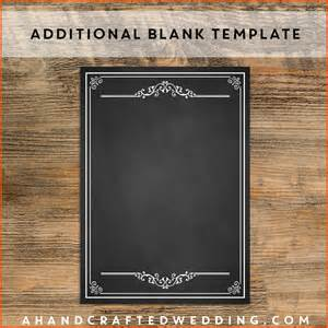 Blank Food Menu Template by Blank Restaurant Menu Templates