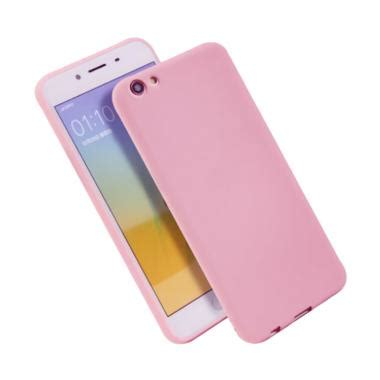 Jual Casing Hp Vivo jual lize design slim pink matte silikon casing for vivo y53 matte ultrathin