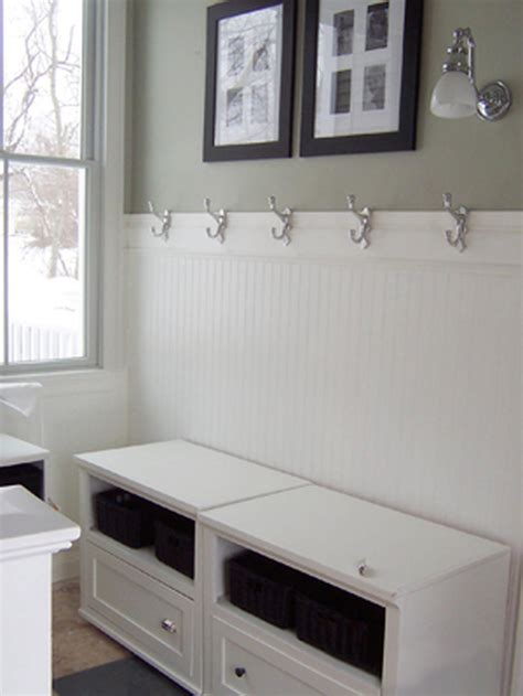 mudroom bathroom ideas white cottage mudrooms decorating and design ideas for