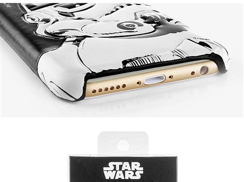 Iphone 6 6s Casing Cover Lucu Starwars Leather Bb 8 iphone 6 6s wars stormtrooper leather back