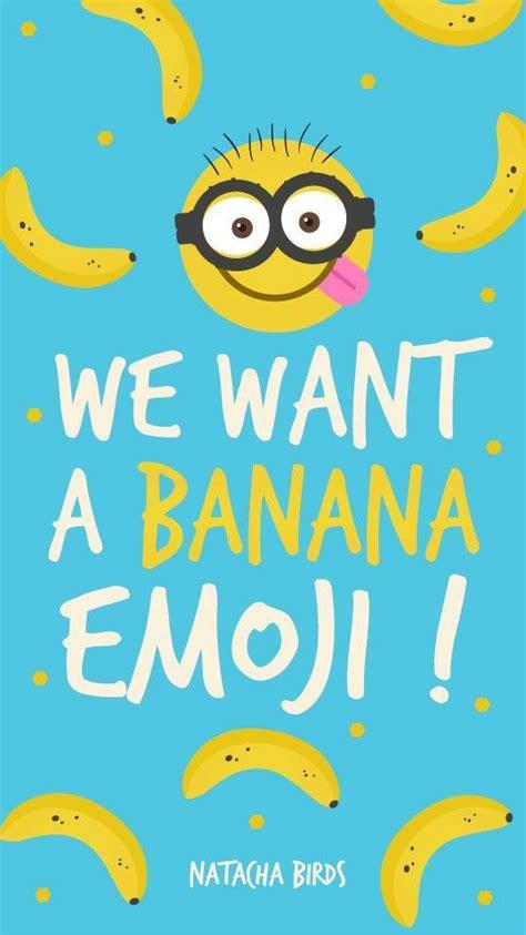 emoji banana wallpaper wallpaper image 3092045 by lady d on favim com
