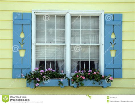 Window Boxes Plans - tulip cottage window royalty free stock photo image 11636005