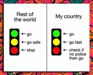 Federal Signal Lights Just 4 Laughs What Traffic Lights Mean In Nigeria Vs The