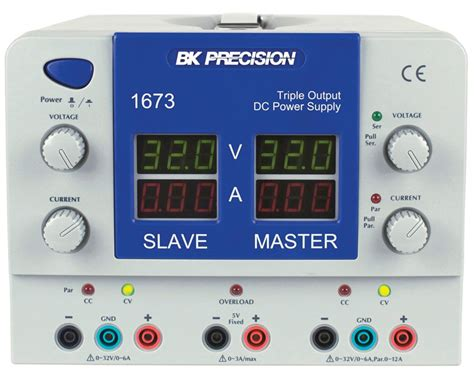 model 1672 display output dc power supplies