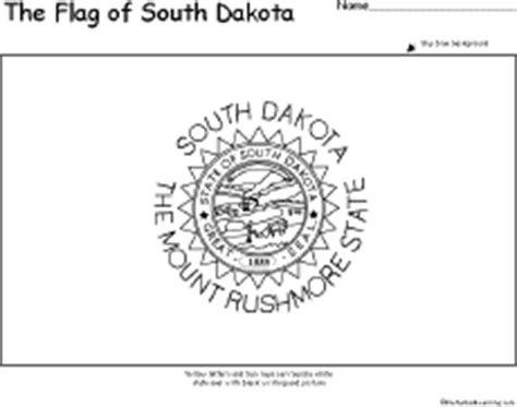 south dakota facts map and state symbols