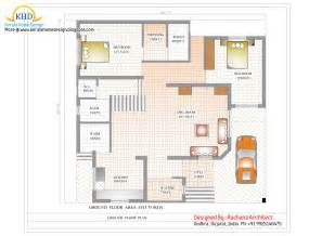 duplex house floor plans duplex house plan and elevation 2741 sq ft kerala