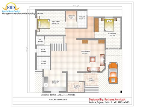 Duplex House Plan And Elevation 2741 Sq Ft Kerala Duplex House Plans