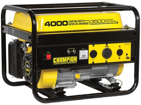 Small Home Generator Reviews Chion 3500 4000 Watt Gas Powered Generator Mpn 46596