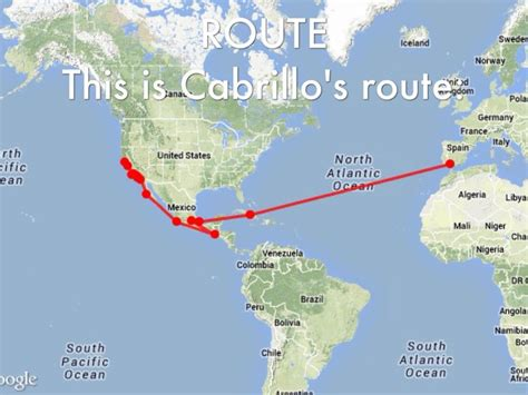 map of cabrillo voyages search california