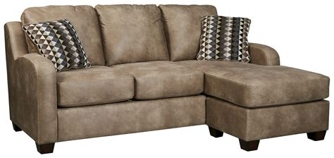 nairobi contemporary faux leather reclining sofa by benchcraft contemporary faux leather sofa chaise by benchcraft wolf