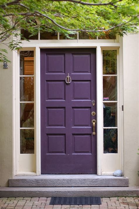 Colors Of Front Doors Decorating With Color Front Door Color Ideas