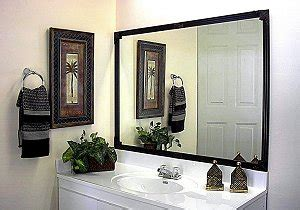 picture frame bathroom mirror bathroom mirror frames picture of frames