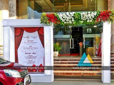 Wedding Stage Decoration at Anandha Inn, Pondicherry