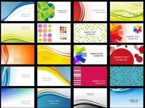 visiting card templates free software business card free vector 22 236 free vector