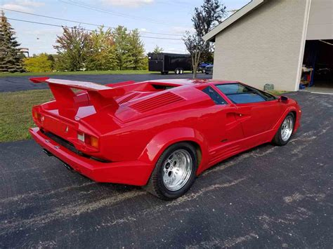 Lamborghini Countach 1990 by 1990 Lamborghini Countach 25th Anniversary For Sale