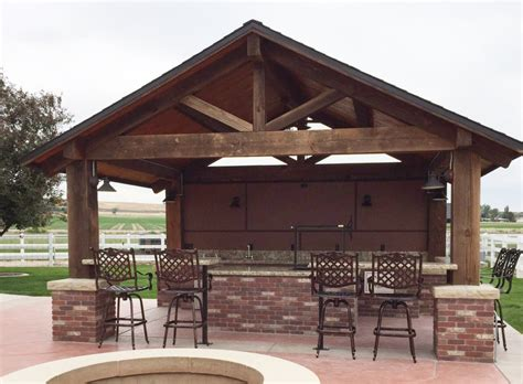 Lights To Hang In Bedroom How To Design An Outdoor Kitchen Pavilion So That More