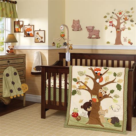 Baby Comforter Cheap Crib Bedding Used Baby Furniture Woodland Nursery Bedding Set