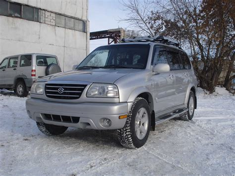 2002 Suzuki Grand Vitara Reviews 2002 Suzuki Grand Vitara Xl 7 Images 2700cc Gasoline