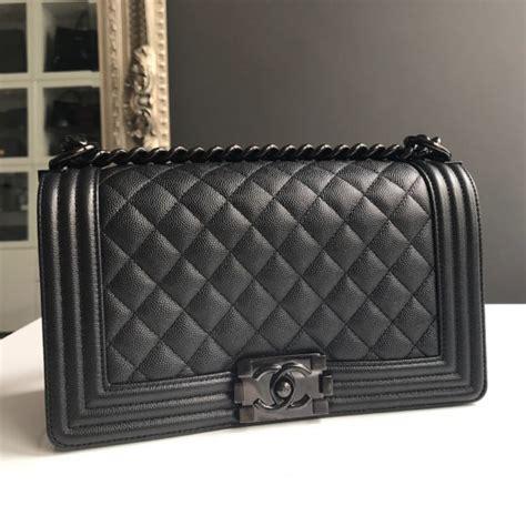 chanel boy caviar so black 9003 chanel boy bag price medium best model bag 2016