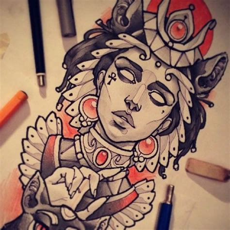 egyptian queen tattoos designs goddess bastet pinteres