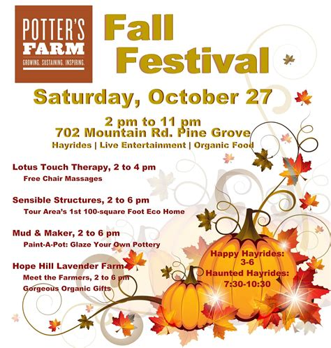 19 free fall festival flyer template psd images fall